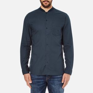 Selected Homme Men's Base Long Sleeve Shirt - Blueberry