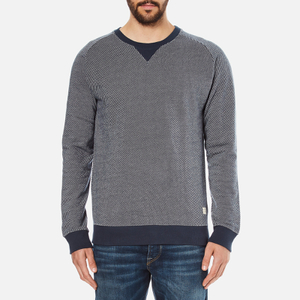 Selected Homme Men's Markus Crew Neck Sweatshirt - Blueberry