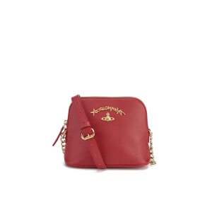 Vivienne Westwood Women's Divina Cross Body Bag - Bordeaux