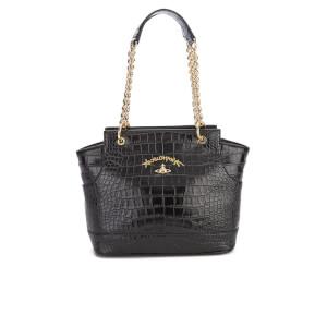 Vivienne Westwood Women's Dorset Croc Tote Bag - Black