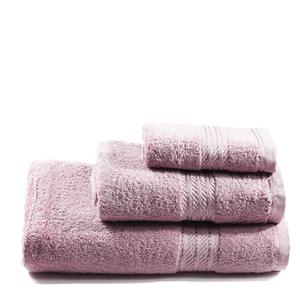 Restmor 100% Egyptian Cotton 3 Piece Towel Bale - Mauve