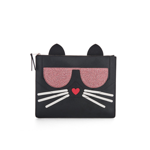 Karl Lagerfeld Women's K/Kocktail Choupette Big Pouch - Black