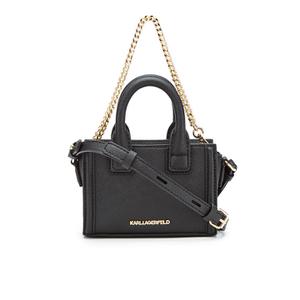 Karl Lagerfeld Women's K/Klassik Micro Tote Bag - Black