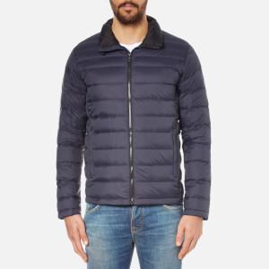 Calvin Klein Men's Opack Packable Down Jacket - Night Sky