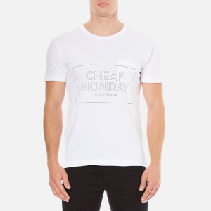 Cheap Monday Men's Standard Thin Box T-Shirt - White