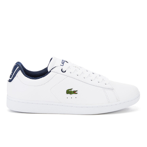 Lacoste Women's Carnaby Evo 116 1 SPW Court Trainers - White