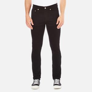 Wood Wood Men's Alva Slim Fit Stretch Jeans - Black