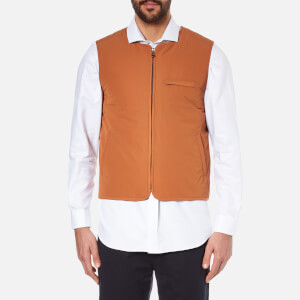Folk Men's Wadded Gilet - Rust