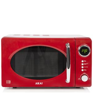 Akai A24006R 700W Digital Microwave - Red