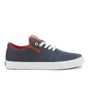 Supra Men's Stacks Vulc II Suede Trainers - Navy