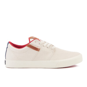 Supra Men's Stacks Vulc II Suede Trainers - Off White