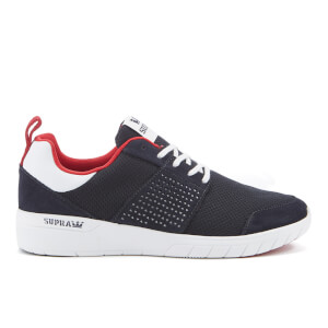 Supra Men's Scissor Mesh Running Trainers - Navy