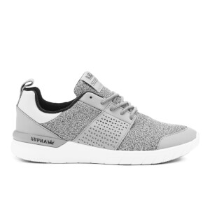 Supra Men's Scissor Static Mesh Running Trainers - Light Grey