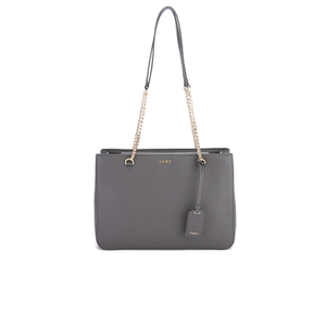 DKNY Women's Bryant Park Shopper Tote Bag - Dark Charcoal