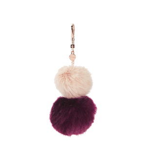 Ted Baker Women's Renah Fur Bag Charm - Nude Pink