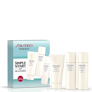 Shiseido Pureness Deep Cleansing Foam Starter Kit (Worth £30.85)