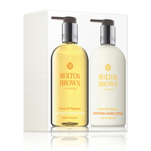 Molton Brown Lemon and Mandarin Hand Care Set