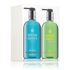 Molton Brown Blue Maquis and Puritas Hand Wash Set