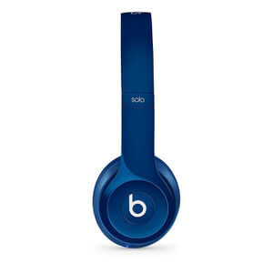 Beats by Dr. Dre: Solo2 On-Ear Headphones - Blue (Manufacturer Refurbished)