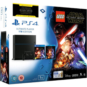 Sony PlayStation 4 1TB - Includes LEGO Star Wars: The Force Awakens & Star Wars: The Force Awakens Blu-ray