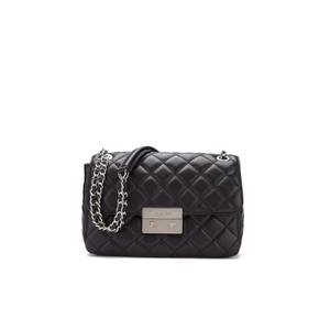 MICHAEL MICHAEL KORS Women's Sloane Large Chain Shoulder Bag - Black
