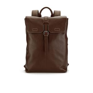 Ted Baker Men's Earth Leather Backpack - Dark Tan