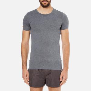Superdry Men's Gym Basic Sport Runner T-Shirt - Grey Grit