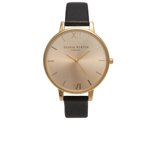 Olivia Burton Women's After Dark Midi Watch - Black/Dusty Pink