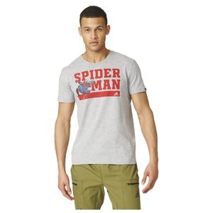 adidas Men's Spiderman Training T-Shirt - Grey
