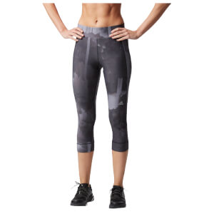 adidas Women's PR 3/4 Running Tights - Grey
