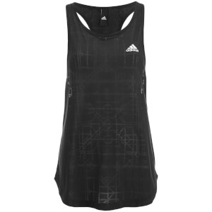 adidas Women's Lightweight Training Tank Top - Black