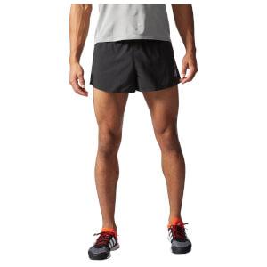 adidas Men's Sequencials Climacool Running Split Shorts - Black