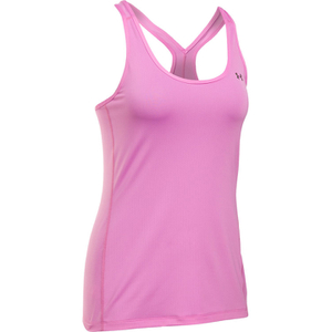 Under Armour Women's HeatGear Armour Racer Tank - Verve Violet/Metallic Silver