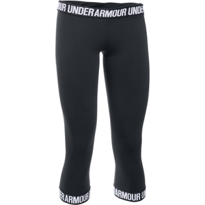 Under Armour Women's Favorite Capri Tights - Black