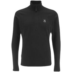 Haglofs Men's Astro II Half Zip Fleece - True Black