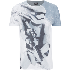 Star Wars Men's Storm Trooper T-Shirt - Grey