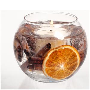 Stoneglow Cinnamon and Orange Natural Wax Fishbowl