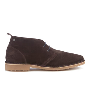 Jack & Jones Men's Gobi Suede Desert Boots - Java