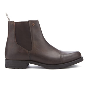 Jack & Jones Men's Simon Leather Chelsea Boots - Brown Stone