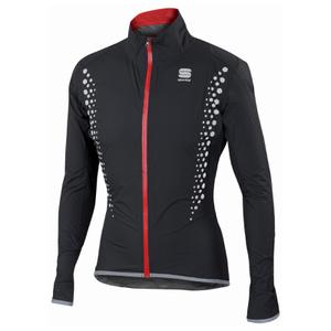 Sportful Hot Pack Hi-Viz NoRain Jacket - Black
