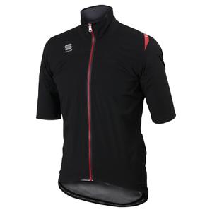 Sportful Fiandre Windstopper LRR Short Sleeve Jacket - Black