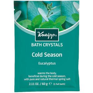 Kneipp Eucalyptus Cold Season Mineral Bath Salt Sachet - 2.11oz