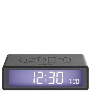 Lexon Flip Clock - Gun Metal