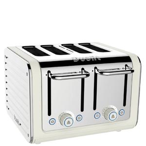 Dualit Architect 4 Slot Toaster - Canvas
