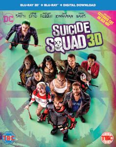 Suicide Squad 3D (Includes 2D Version) (Includes Ultraviolet Copy)
