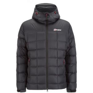Berghaus Men's Popena Hooded Hydrodown Fusion Jacket - Black