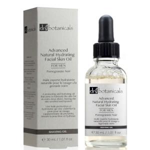 Dr Botanicals Pomegranate Noir Advanced Natural Hydrating Facial Skin Oil For Men 30ml