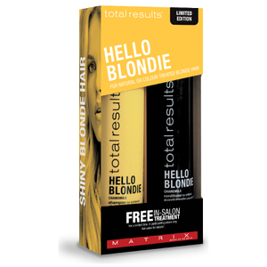 Matrix Total Results Hello Blondie Lote de Regalo