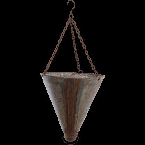 Nkuku Abari Tapered Hanging Planter 43 x 20cm