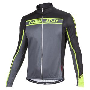 Nalini Confine Ti Long Sleeve Jersey - Black/Fluro Yellow